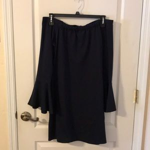 Sugar Lips Navy Blue Dress Size XL Worn Once